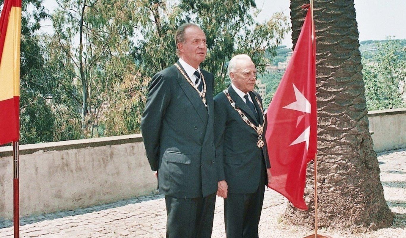 Felipe VI renueva la relación de la Corona con la Orden de Malta