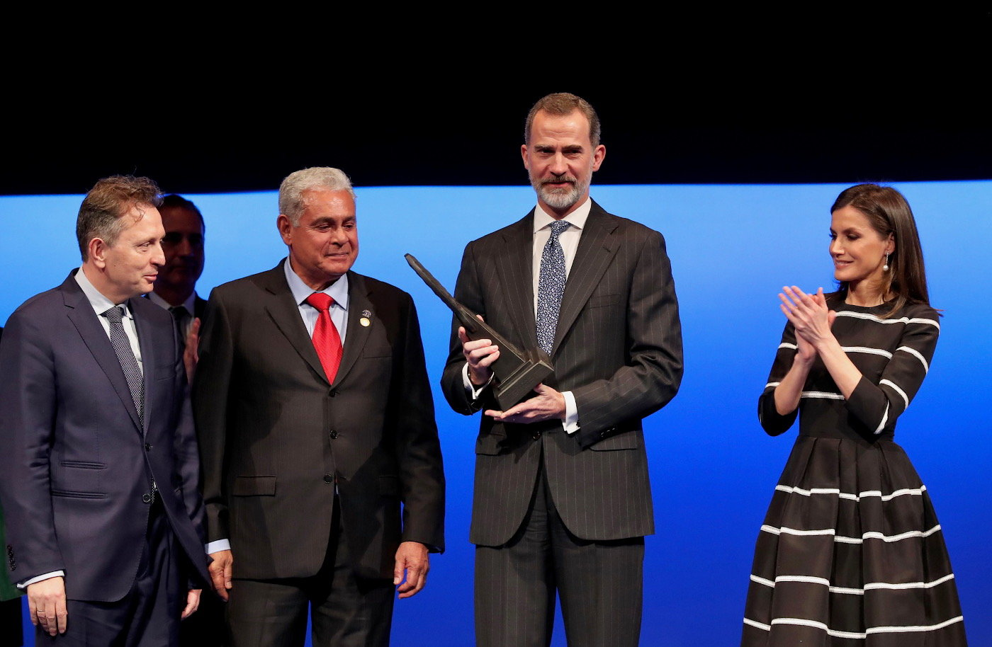"Felipe VI recibe el ""World Peace & Liberty Award"" de la ""World Jurist Association (WJA)"""